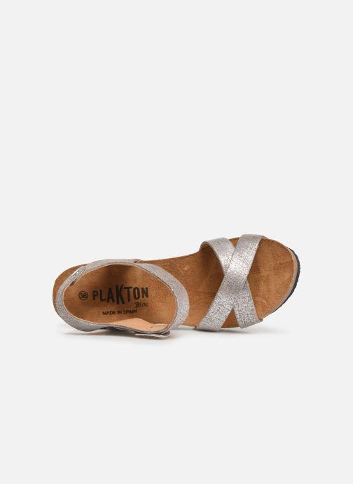 Sandales et nu-pieds Plakton I-Fine Argent vue gauche