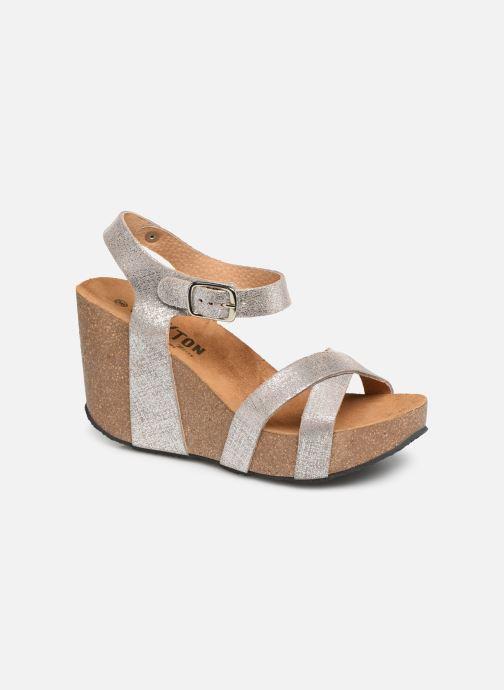 Sandales et nu-pieds Plakton I-Fine Argent vue détail/paire