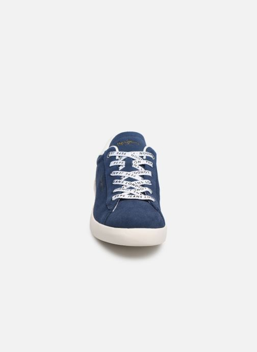 Sneakers Pepe jeans Roland Suede Blauw model
