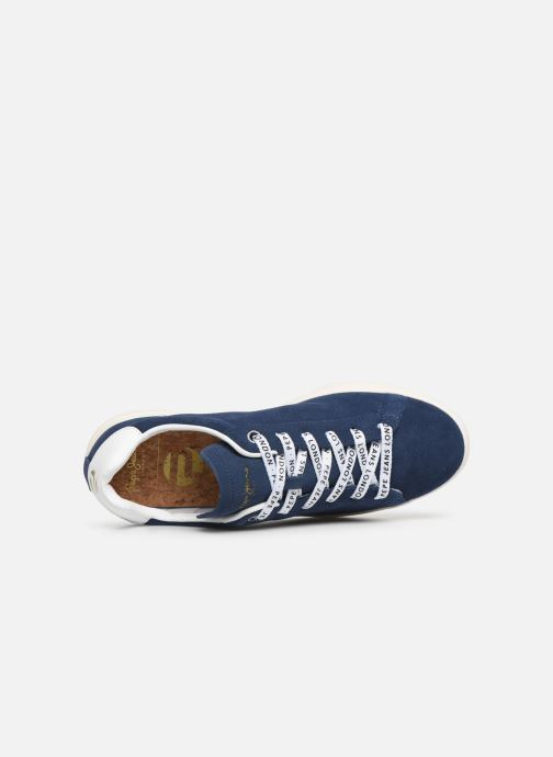 Sneakers Pepe jeans Roland Suede Blauw links