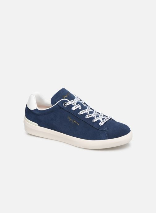Sneakers Pepe jeans Roland Suede Blauw detail