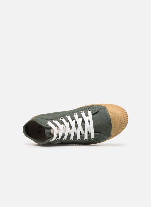 Sneaker Pepe jeans In-G Hi Man grün ansicht von links