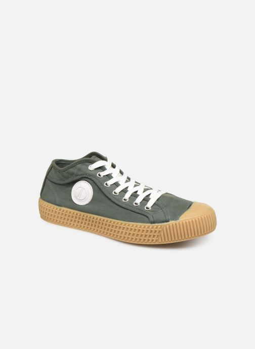Sneaker Pepe jeans In-G Hi Man grün detaillierte ansicht/modell