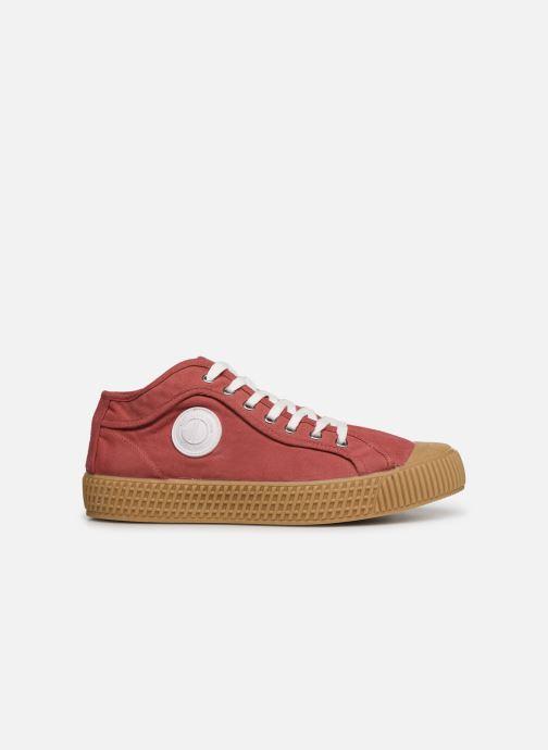 Sneakers Pepe jeans In-G Hi Man Rood achterkant