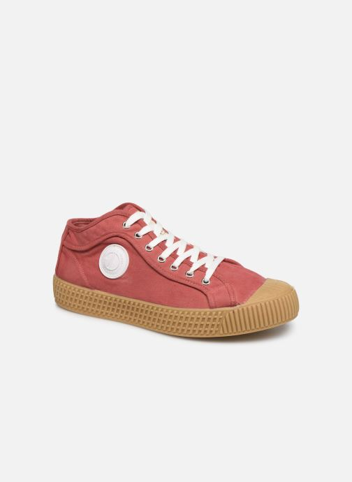 Sneakers Pepe jeans In-G Hi Man Rood detail