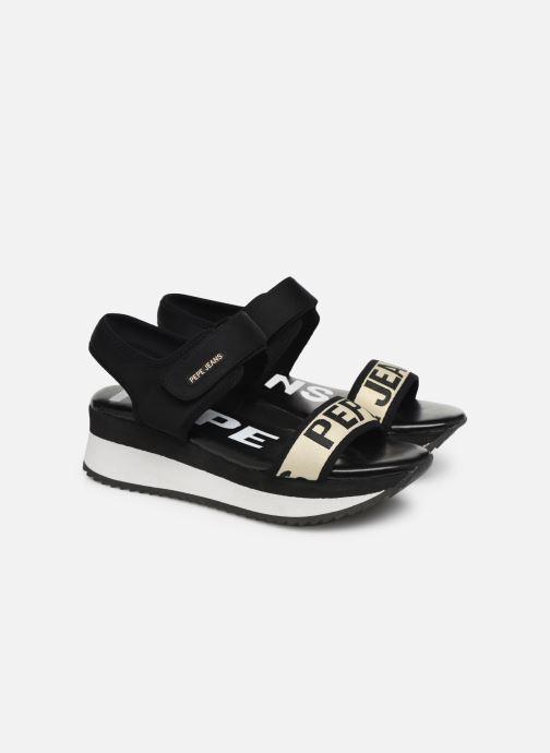 Sandales et nu-pieds Pepe jeans Fuji Mania Noir vue 3/4