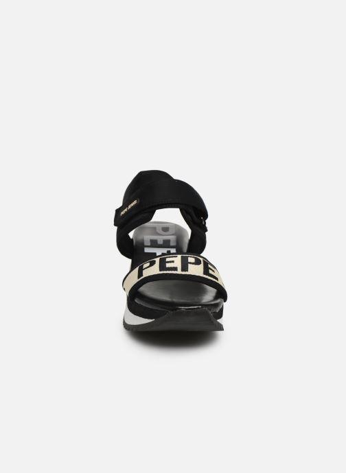 Sandales et nu-pieds Pepe jeans Fuji Mania Noir vue portées chaussures