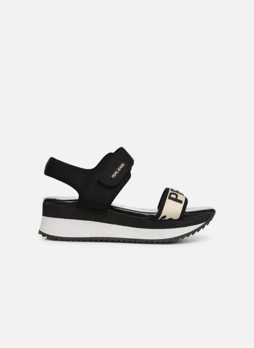 Sandales et nu-pieds Pepe jeans Fuji Mania Noir vue derrière