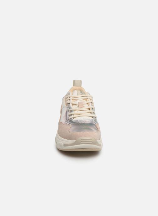 Baskets Pepe jeans Sinyu Reflect Argent vue portées chaussures