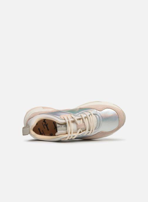 Baskets Pepe jeans Sinyu Reflect Argent vue gauche