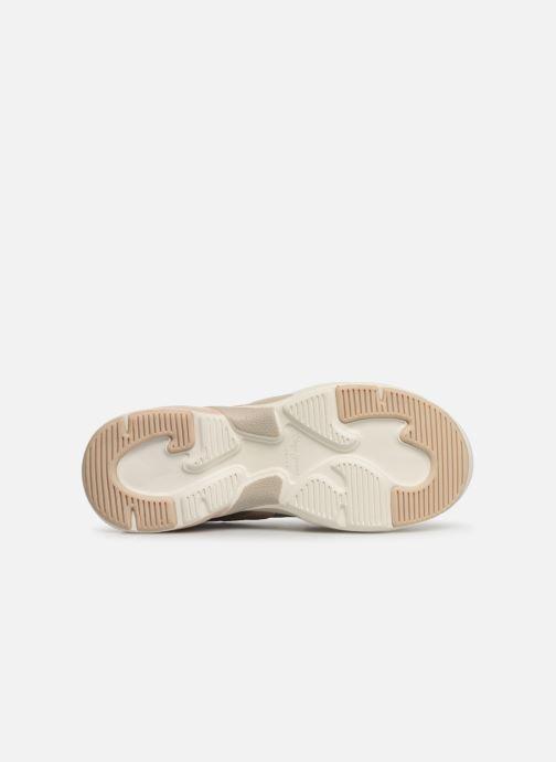 Baskets Pepe jeans Sinyu Reflect Argent vue haut