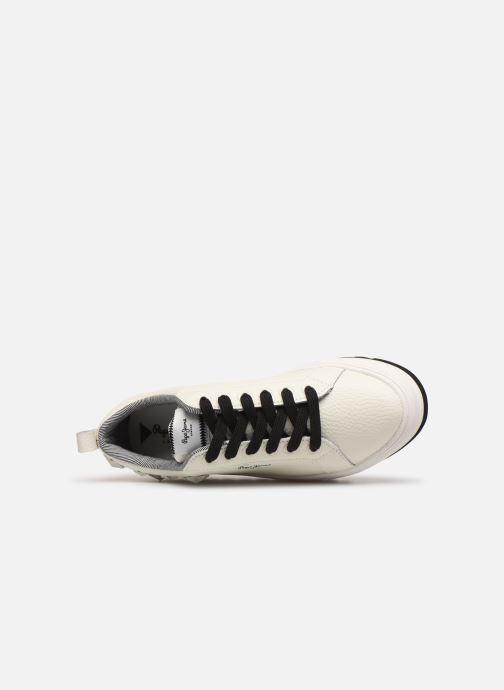 Baskets Pepe jeans Otawa Studs Blanc vue gauche