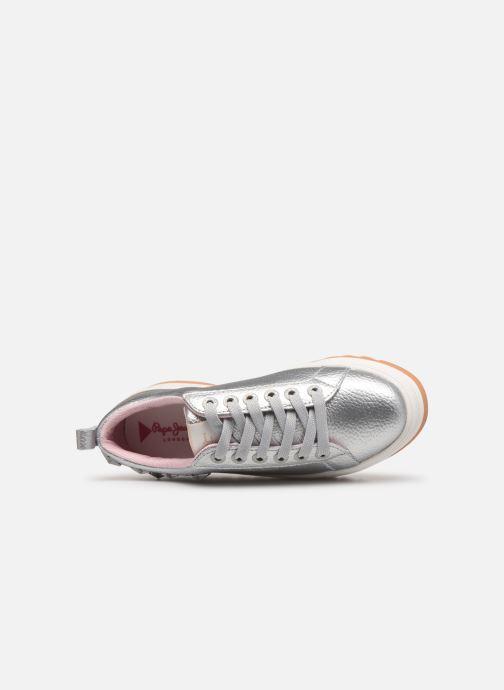 Chez Otawa Studs Jeans Pepe argento Sneakers 358814 CRwTpq6