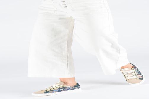 Baskets Pepe jeans Kioto Jungle Multicolore vue bas / vue portée sac