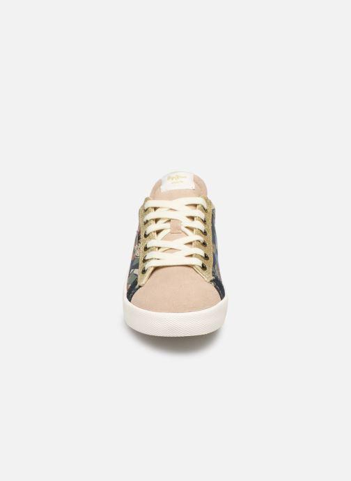 Baskets Pepe jeans Kioto Jungle Multicolore vue portées chaussures