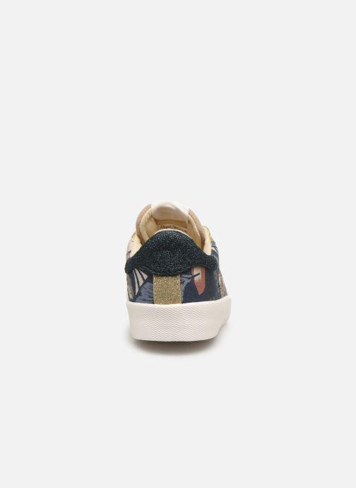 Baskets Pepe jeans Kioto Jungle Multicolore vue droite
