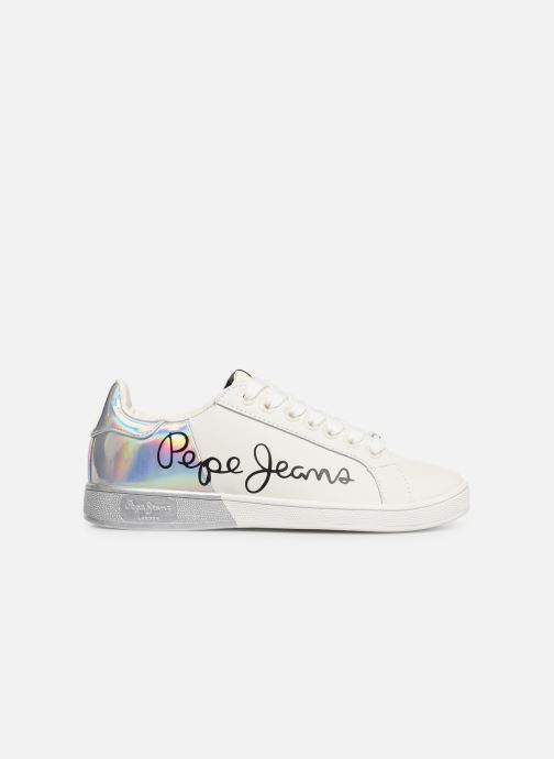 Baskets Pepe jeans Brompton Mania Blanc vue derrière
