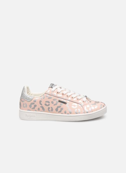 Baskets Pepe jeans Brompton Flashy Print Rose vue derrière