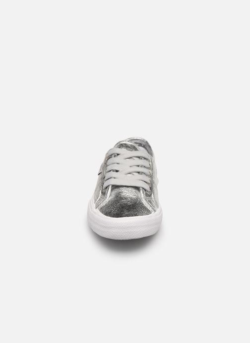Baskets Pepe jeans Aberlady Met 18 Argent vue portées chaussures