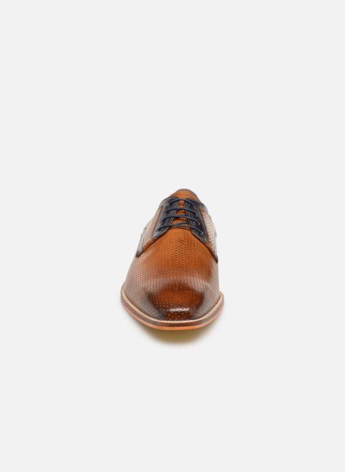 Zapatos con cordones Melvin & Hamilton Alex 10 Marrón vista del modelo