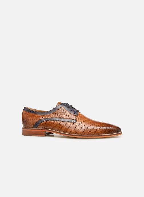 Lace-up shoes Melvin & Hamilton Alex 10 Brown back view