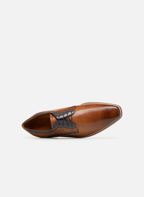 Zapatos con cordones Melvin & Hamilton Alex 10 Marrón vista lateral izquierda