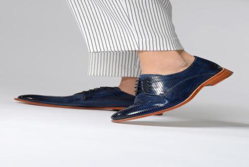 Chaussures à lacets Melvin & Hamilton Amelie 14 Bleu vue bas / vue portée sac