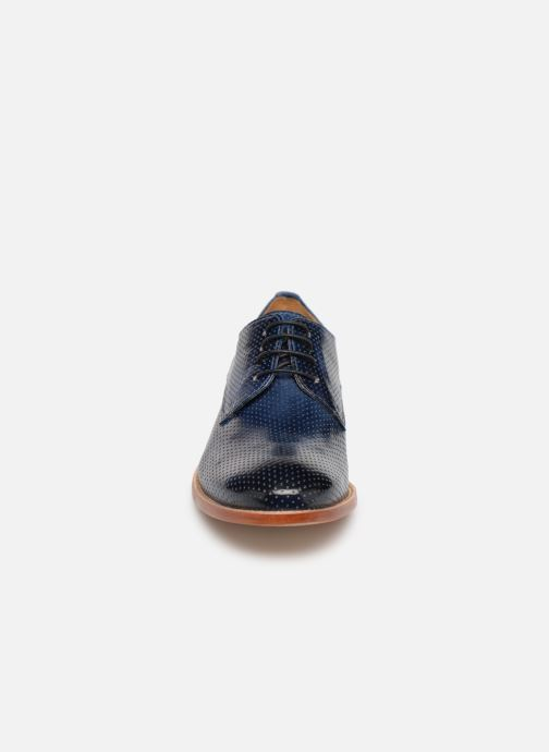 Lace-up shoes Melvin & Hamilton Amelie 14 Blue model view