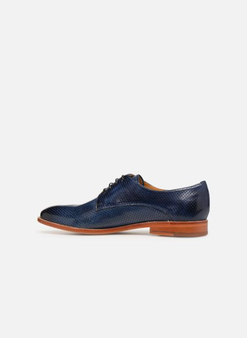 Lace-up shoes Melvin & Hamilton Amelie 14 Blue front view