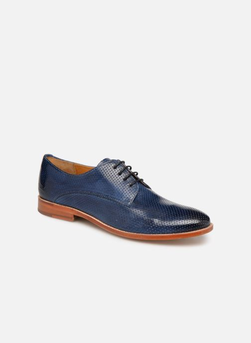Lace-up shoes Melvin & Hamilton Amelie 14 Blue detailed view/ Pair view