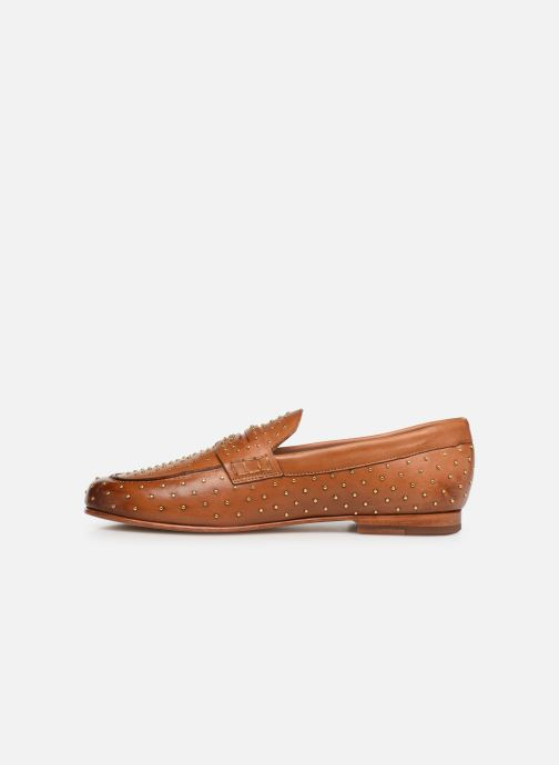 Loafers Melvin & Hamilton Caroline 3 Brown front view