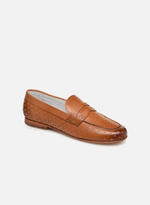 Loafers Melvin & Hamilton Caroline 3 Brown detailed view/ Pair view