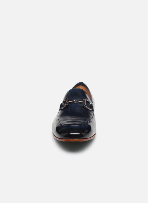 Mocassins Melvin & Hamilton Clive 1 Bleu vue portées chaussures