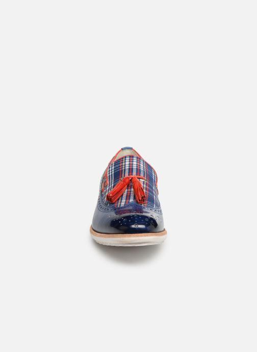 Loafers Melvin & Hamilton Eddy 16 Blue model view
