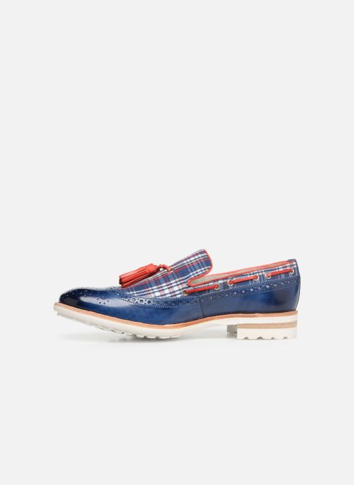 Loafers Melvin & Hamilton Eddy 16 Blue front view