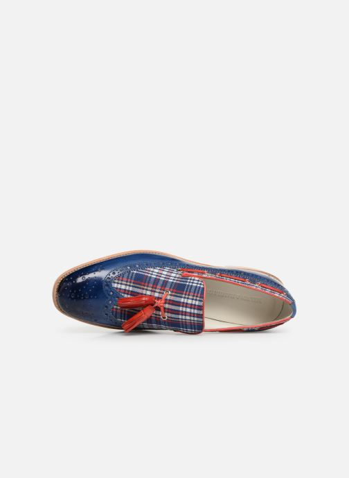 Loafers Melvin & Hamilton Eddy 16 Blue view from the left