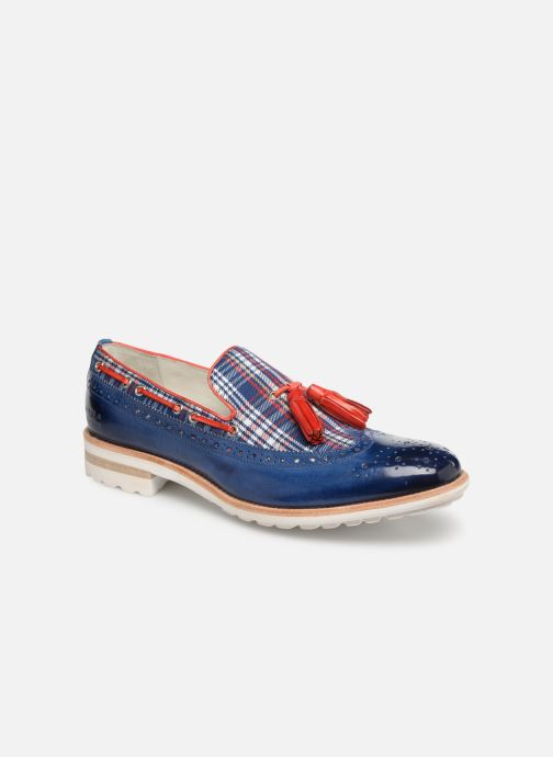 Loafers Melvin & Hamilton Eddy 16 Blue detailed view/ Pair view