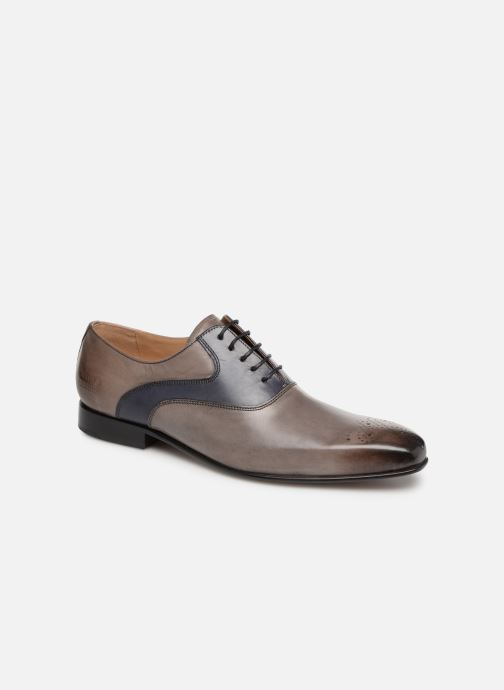 Lace-up shoes Melvin & Hamilton Ethan 11 Grey detailed view/ Pair view