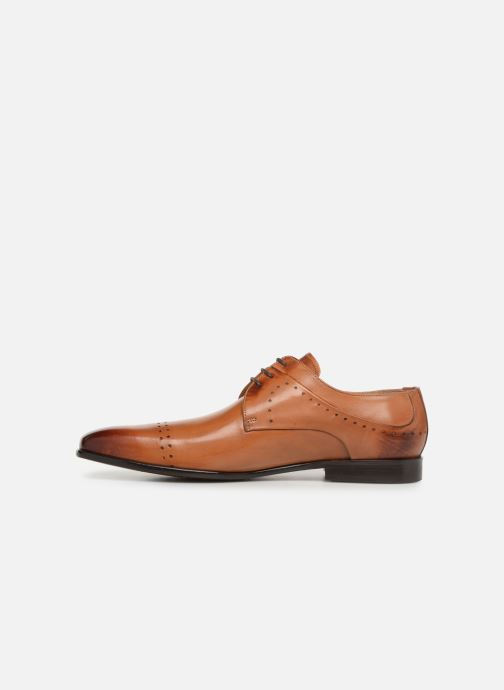 Lace-up shoes Melvin & Hamilton Ethan 14 Brown front view