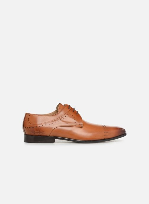 Lace-up shoes Melvin & Hamilton Ethan 14 Brown back view