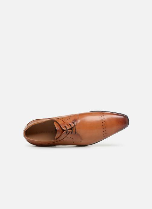 Zapatos con cordones Melvin & Hamilton Ethan 14 Marrón vista lateral izquierda