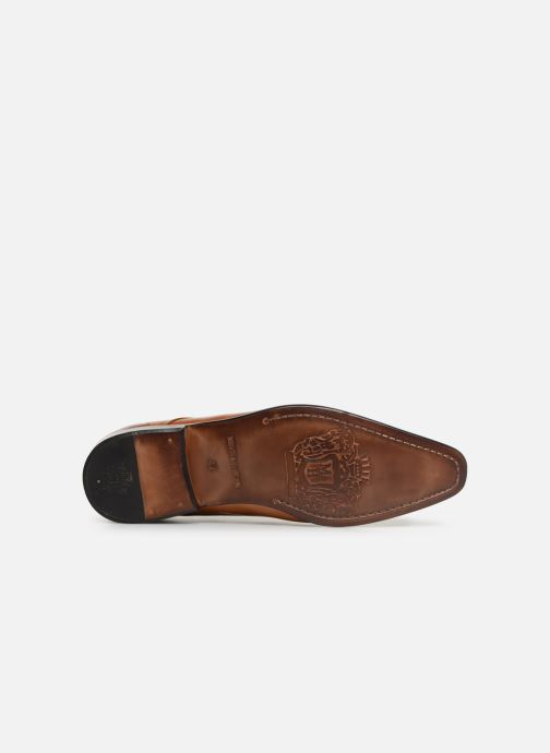 Zapatos con cordones Melvin & Hamilton Ethan 14 Marrón vista de arriba