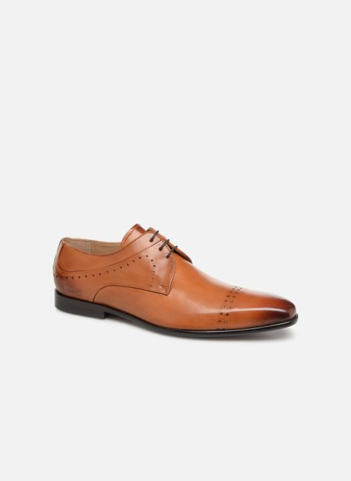 Lace-up shoes Melvin & Hamilton Ethan 14 Brown detailed view/ Pair view