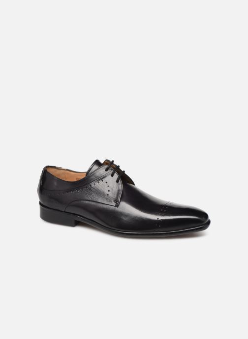 Lace-up shoes Melvin & Hamilton Ethan 14 Grey detailed view/ Pair view