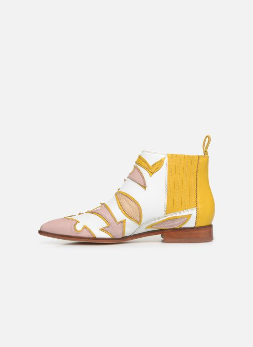 Ankle boots Melvin & Hamilton Jessy 42 Yellow front view