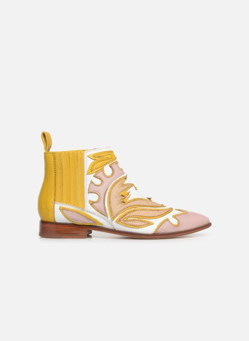Ankle boots Melvin & Hamilton Jessy 42 Yellow back view