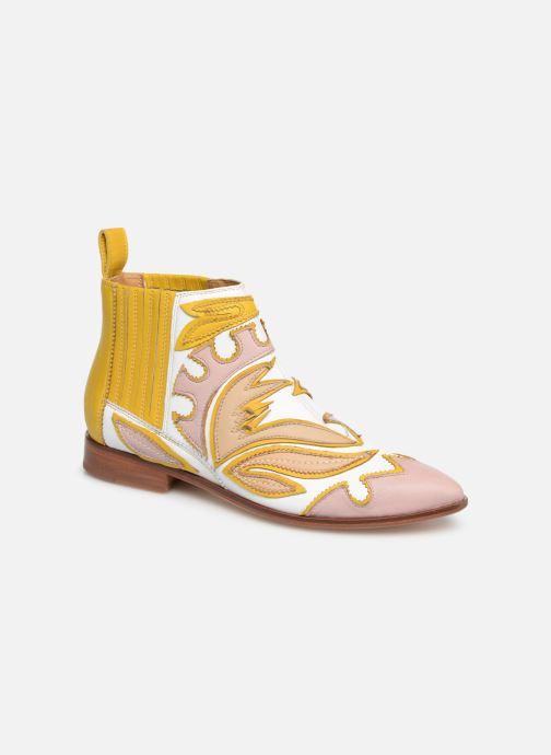 Boots en enkellaarsjes Melvin & Hamilton Jessy 42 Geel detail