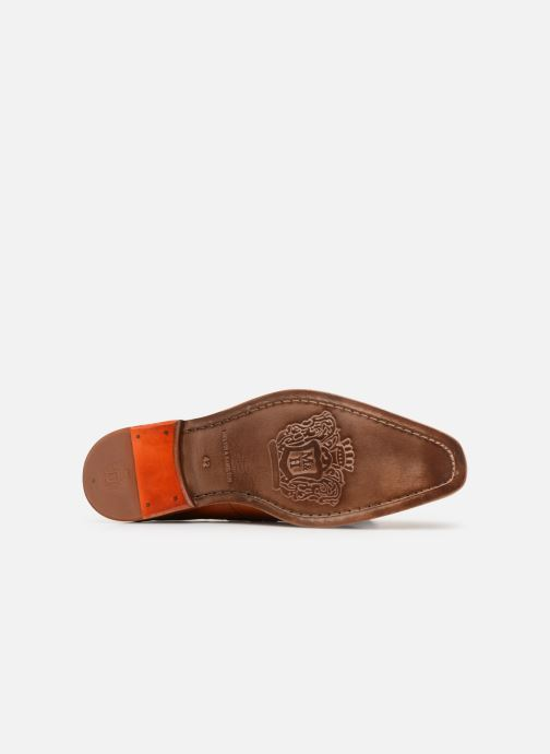 Loafers Melvin & Hamilton Leonardo 1 Brown view from above