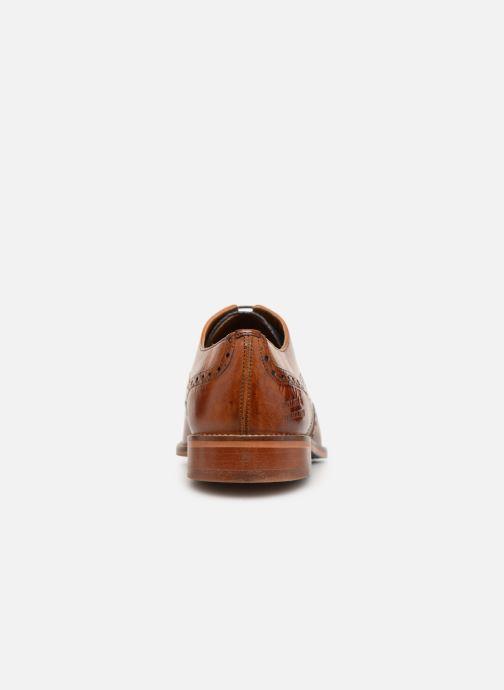 Zapatos con cordones Melvin & Hamilton Martin 15 Marrón vista lateral derecha