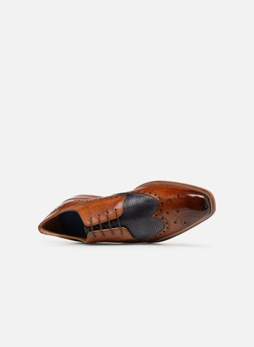 Scarpe con lacci Melvin & Hamilton Martin 15 Marrone immagine sinistra